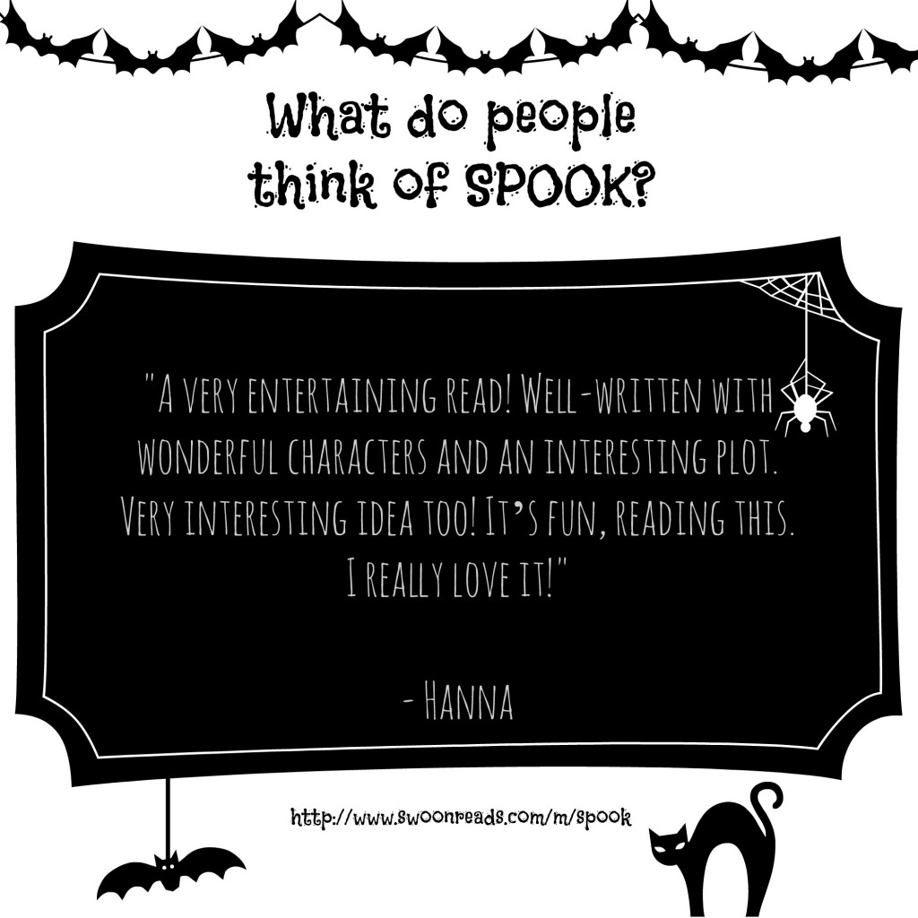 Hanna reviews SPOOK by Gabe Mcclure