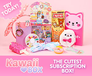kawaii box graphic