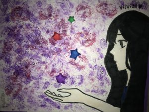 Fanart of Vilvian from Paper Wishes